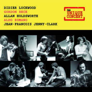 The unique concert - Didier Lockwood